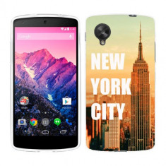 Husa LG Nexus 5 Silicon Gel Tpu Model New York - Husa Telefon