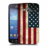 Husa Samsung Galaxy Core 4G LTE G386F Silicon Gel Tpu Model USA Flag