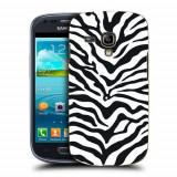 Husa Samsung Galaxy S3 Mini i8190 Silicon Gel Tpu Model Animal Print Zebra