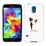 Husa Samsung Galaxy S5 G900 G901 Plus G903 Neo Silicon Gel Tpu Model For Life