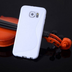 Husa Samsung Galaxy S6 G920 Silicon Gel Tpu S-Line Alba - Husa Telefon