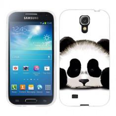 Husa Samsung Galaxy S4 i9500 i9505 Silicon Gel Tpu Model Panda Trist - Husa Telefon