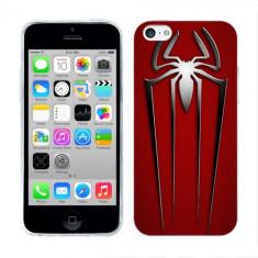 Husa iPhone 5C Silicon Gel Tpu Model Spiderman