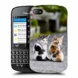 Husa BlackBerry Q10 Silicon Gel Tpu Model Kitties
