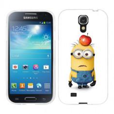 Husa Samsung Galaxy S4 i9500 i9505 Silicon Gel Tpu Model Minions - Husa Telefon
