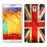 Husa Samsung Galaxy Note 3 N9000 N9005 Silicon Gel Tpu Model UK Flag