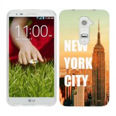 Husa LG G2 Mini Silicon Gel Tpu Model New York - Husa Telefon