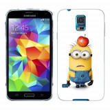 Husa Samsung Galaxy S5 G900 G901 Plus G903 Neo Silicon Gel Tpu Model Minions