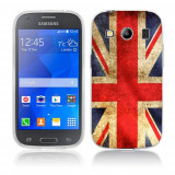 Husa Samsung Galaxy Ace 4 G357 Silicon Gel Tpu Model UK Flag