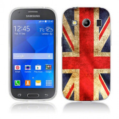 Husa Samsung Galaxy Ace 4 G357 Silicon Gel Tpu Model UK Flag - Husa Telefon