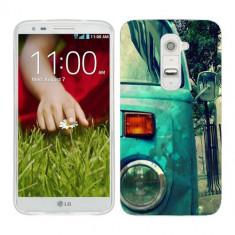 Husa LG G2 Mini Silicon Gel Tpu Model Vintage Car - Husa Telefon