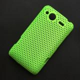 Husa HTC Salsa G15 Plastic Perforat Vent Verde - Husa Telefon