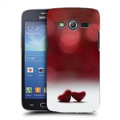 Husa Samsung Galaxy Core 4G LTE G386F Silicon Gel Tpu Model Little Hearts - Husa Telefon