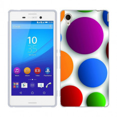 Husa SONY Xperia M4 Aqua Silicon Gel Tpu Model Buline Colorate - Husa Telefon