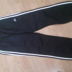 Pantaloni de trening copii ADIDAS, Marime: L, Culoare: Negru