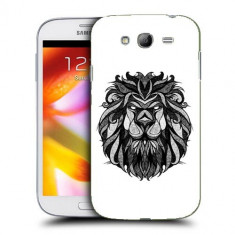 Husa Samsung Galaxy Grand Neo i9060 i9080 i9082 Silicon Gel Tpu Model Lion Abstract - Husa Telefon