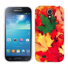 Husa Samsung Galaxy S4 i9500 i9505 Silicon Gel Tpu Model Autumn Leaves - Husa Telefon