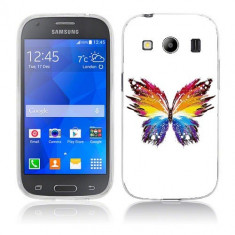 Husa Samsung Galaxy Ace 4 G357 Silicon Gel Tpu Model Abstract Butterfly - Husa Telefon