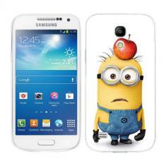 Husa Samsung Galaxy S4 Mini i9190 i9195 Silicon Gel Tpu Model Minions - Husa Telefon