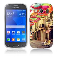 Husa Samsung Galaxy Ace 4 G357 Silicon Gel Tpu Model Vintage Umbrella - Husa Telefon