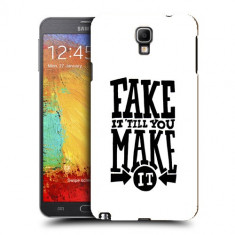 Husa Samsung Galaxy Note 3 Neo N7505 Silicon Gel Tpu Model Fake It - Husa Telefon
