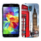 Husa Samsung Galaxy S5 G900 G901 Plus G903 Neo Silicon Gel Tpu Model London