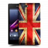 Husa SONY Xperia Z1 Compact Silicon Gel Tpu Model UK Flag