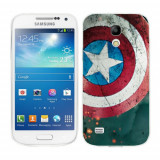 Husa Samsung Galaxy S4 Mini i9190 i9195 Silicon Gel Tpu Model Captain America