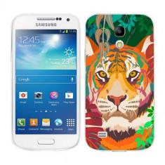Husa Samsung Galaxy S4 Mini i9190 i9195 Silicon Gel Tpu Model Desen Tigru - Husa Telefon