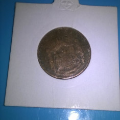 ROMANIA - 5 BANI 1867 - Moneda Romania