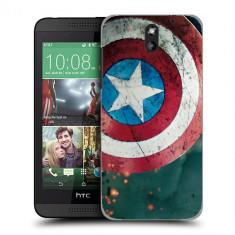 Husa HTC Desire 610 Silicon Gel Tpu Model Captain America