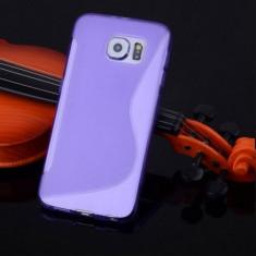 Husa Samsung Galaxy S6 Edge G925 Silicon Gel Tpu S-Line Mov - Husa Telefon