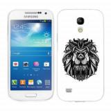 Husa Samsung Galaxy S4 Mini i9190 i9195 Silicon Gel Tpu Model Lion Abstract