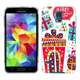 Husa Samsung Galaxy S5 G900 G901 Plus G903 Neo Silicon Gel Tpu Model Craciun Christmas V1