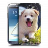 Husa Samsung Galaxy Note 2 N7100 Silicon Gel Tpu Model Sweet Puppies