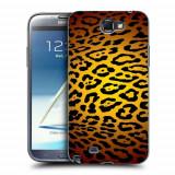Husa Samsung Galaxy Note 2 N7100 Silicon Gel Tpu Model Animal Print Leopard