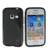 Husa Samsung S6802 Galaxy Ace Duos Silicon Gel Tpu S-Line Neagra - Husa Telefon