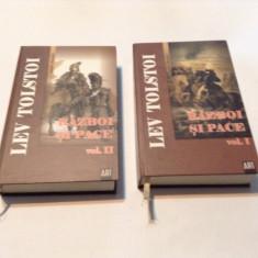 RAZBOI SI PACE - L. N. Tolstoi -2 VOL, RF1/4 - Roman, Anul publicarii: 1959