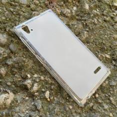 Husa Orange Rono Silicon Gel Tpu Matte Alba - Husa Telefon