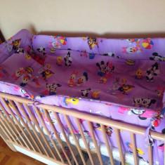 Patut - Patut lemn pentru bebelusi Baby Design, 100X60cm, Crem