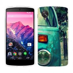 Husa LG Nexus 5 Silicon Gel Tpu Model Vintage Car - Husa Telefon