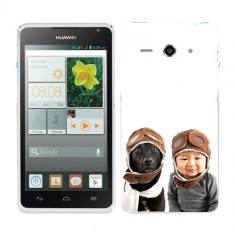 Husa Huawei Ascend Y530 Silicon Gel Tpu Model Bebelus Si Caine Aviatori - Husa Telefon