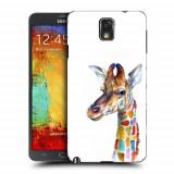 Husa Samsung Galaxy Note 3 N9000 N9005 Silicon Gel Tpu Model Girafa Colorata