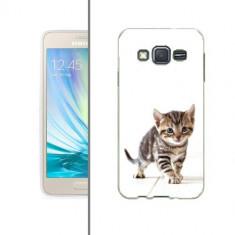 Husa Samsung Galaxy Grand Prime G530 Silicon Gel Tpu Model Pisicuta - Husa Telefon