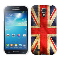 Husa Samsung Galaxy S4 i9500 i9505 Silicon Gel Tpu Model UK Flag - Husa Telefon