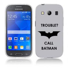 Husa Samsung Galaxy Ace 4 G357 Silicon Gel Tpu Model Batman - Husa Telefon