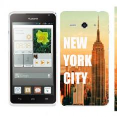 Husa Huawei Ascend Y530 Silicon Gel Tpu Model New York - Husa Telefon