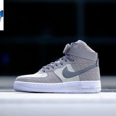 GHETE Nike Air Force 1 HI PRM LEATHER ORIGINALE 100% nr 36.5 - Ghete dama, Culoare: Din imagine