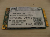 Placa de retea wireless laptop HP Compaq 6910p, Intel 4965AGN, 441082-002
