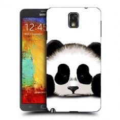 Husa Samsung Galaxy Note 3 N9000 N9005 Silicon Gel Tpu Model Panda Trist - Husa Telefon